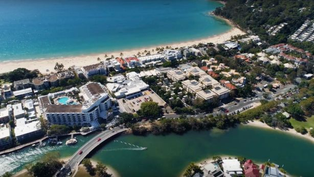 Noosa, from the air.