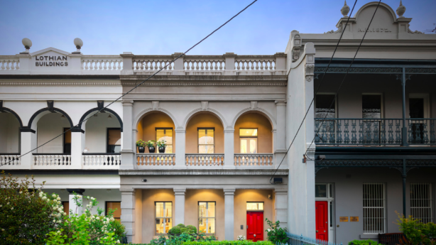 179 Drummond Street, Carlton sold for $5.46 million against a $4.5 million reserve on Saturday.
