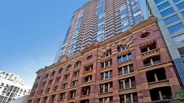 Museum Towers, another building that is looking to save money on water bills through the project. Photo: Domain