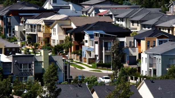 New government figures show one in 10 families in Western Sydney are struggling to meet their mortgage repayments every month. Photo: Rob Homer