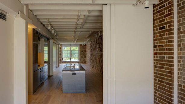 One of the two-bedroom apartments in the Griffiths Tea building. Photo: Michael Nicholson