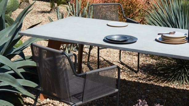 If budget permits, splash out on some new outdoor furniture. Photo: Prue Ruscoe for Robert Plumb. Styling: Claire Delmar