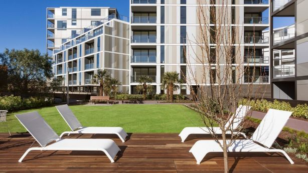 More than 90 per cent of apartments in the development have sold. Photo: Denton Corker Marshall