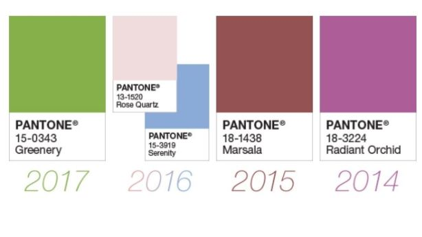Previous winners. Photo: Pantone