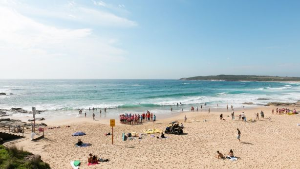 The property was just steps away from Maroubra Beach and had spectacular views. Photo: Steven Woodburn