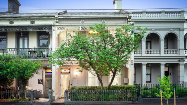 A four-bedroom Victorian terrace house at 173 Drummond St, Carlton fetched $3,825,000.