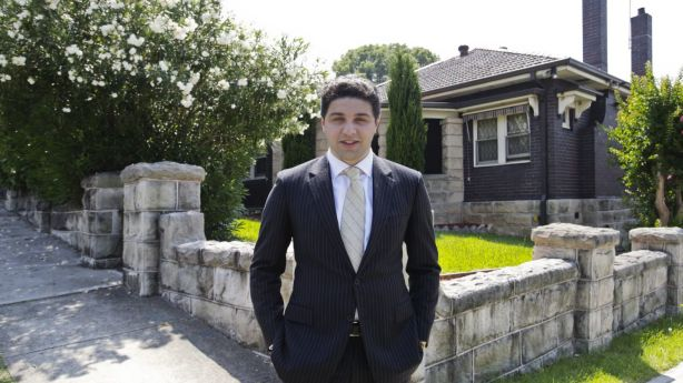 CEO of Capio Property Group Mark Bainey started developing property at 18 years old. Photo: Louie Douvis