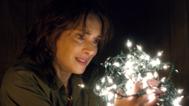 Your festive lights are tangled together in a big lewd clump, all the sticky-outy bulbs snagged on each other. Photo: Netflix