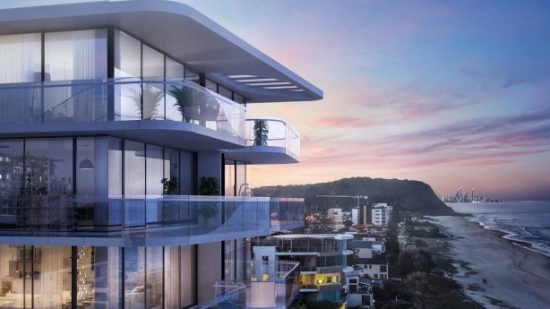 New developments like ONE Palm Beach are changing the face of the Gold Coast. Photo: Supplied