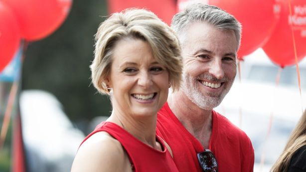 Kristina Keneally and her husband Ben are set to spend this summer in their recently-purchased Scotland Island weekender. Photo: Alex Ellinghausen