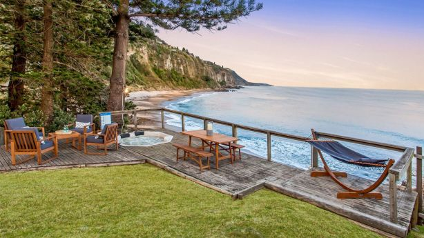 The Coalcliff beachfront getaway of Mark McInnes was the second highest sale in the holiday hotspot. Photo: Supplied