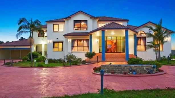 This six-bedroom house sold in early 2016 for $2.8 million. Horsley Park has become attractive to buyers looking for vacant blocks to build their dream homes. Photo: Supplied.