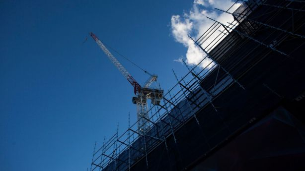 Building approvals sprung into gear in November, ABS data shows. Photo: Dominic Lorrimer