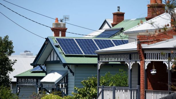 Solar panels can pay for themselves in about five to 10 years. Photo: AAP