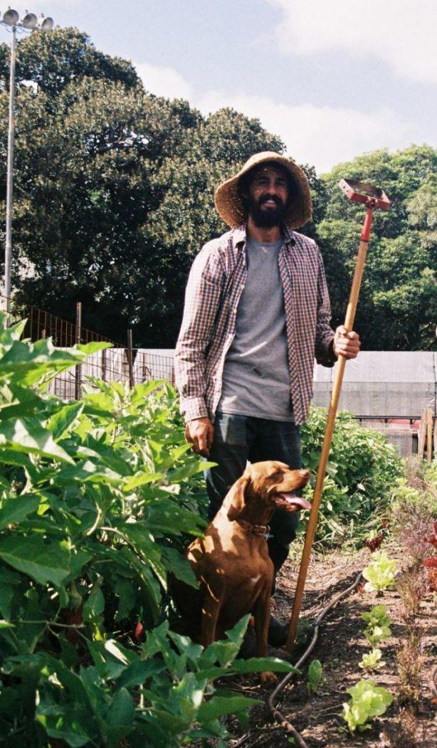Michael Zagoridis of Pocket City Farms. Photo: Rory Lewis / On The Flipside