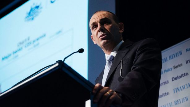 APRA chairman Wayne Byres warns interest-only loans provide less protection to both borrower and lender. Photo: Christopher Pearce