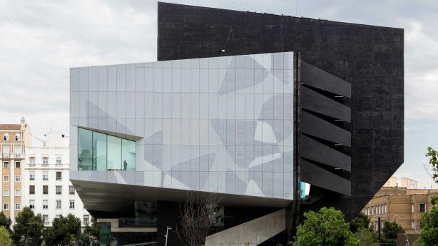 The Caixaforum Cultural Centre in Zaragoza, one of Carme Pinos' designs. Photo: Alberto R Cubas