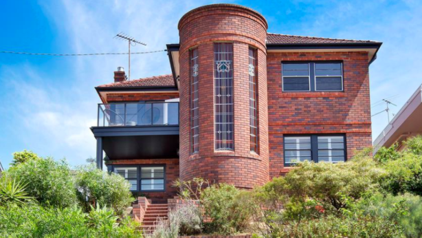Art deco houses were the McMansions of the early 20th century. 68 Beach Street, Coogee. Photo: Supplied