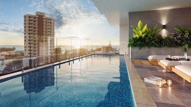 Pool with a view: Koko Broadbeach, on the Gold Coast. Photo: Supplied