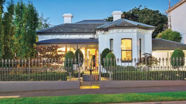 This home in Hawthorn sold for $4.63 million on the weekend. Photo: Supplied