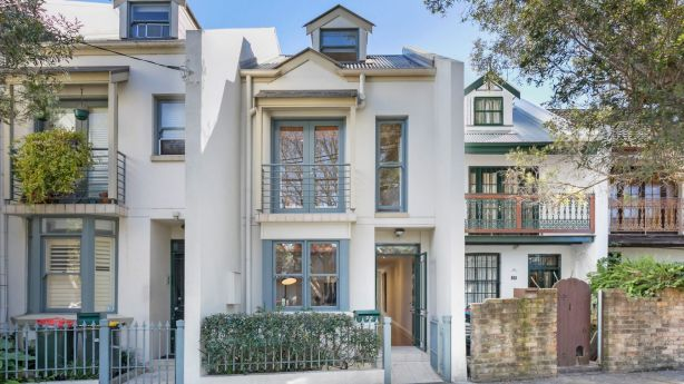 A three-bedroom townhouse at 22 Morehead Street, Redfern, NSW. Photo: Supplied