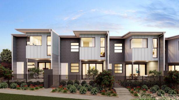 Stockland's North Lakes townhouse development – Vida. Photo: Supplied