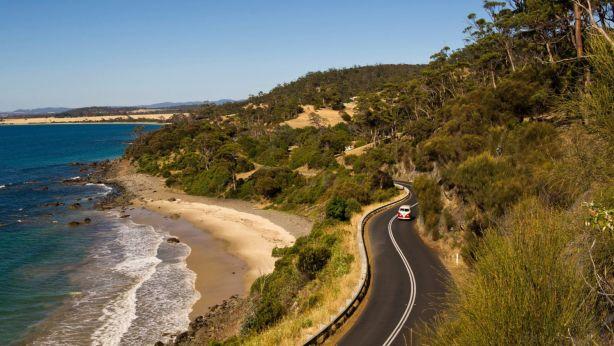 Swansea is a magnet for seachangers looking to buy on Tasmania's east coast. Photo: Tourism Tasmania & Alastair Bett