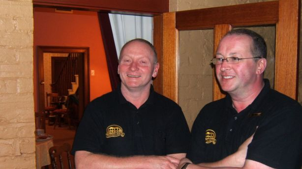 Noel Stanley and Neal McDermott run Meredith House, a historic B&B in Swansea. Photo: Supplied
