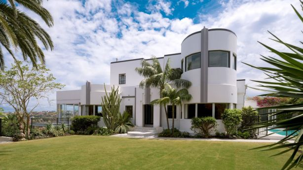 The distinctive art deco residence of John Schaeffer and Bettina Dalton has sold for more than $9 million. Photo: Supplied