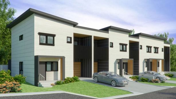 This block in Moorooka is being sold with approval for four townhouses.