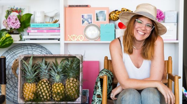 Holly Hipwell's career is in full bloom. Photo: Jacqui Turk / West Elm