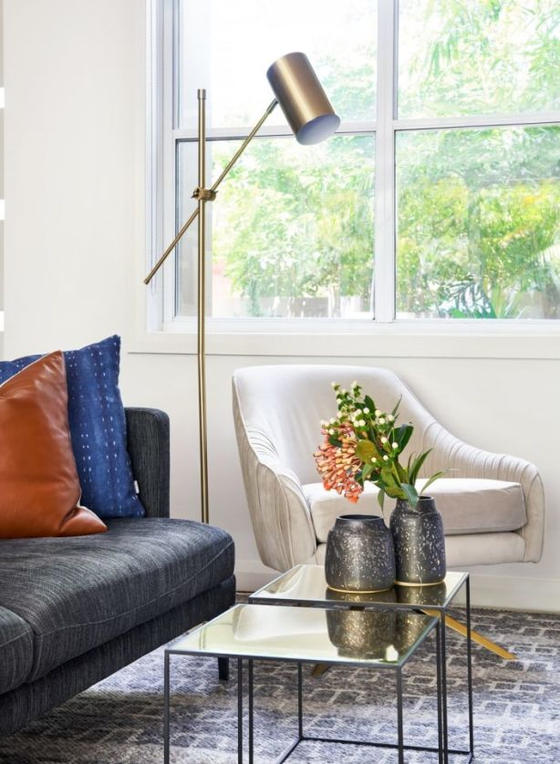 Lighting can have a huge impact on a home's feel. Photo: The Stylesmiths