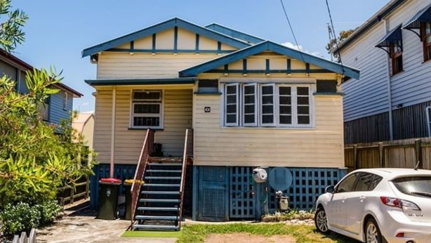 Small lots: This East Brisbane property sold for $850,000 last year to a buyer who plans to subdivide the 506 square metre block into two separate lots. Photo: Supplied