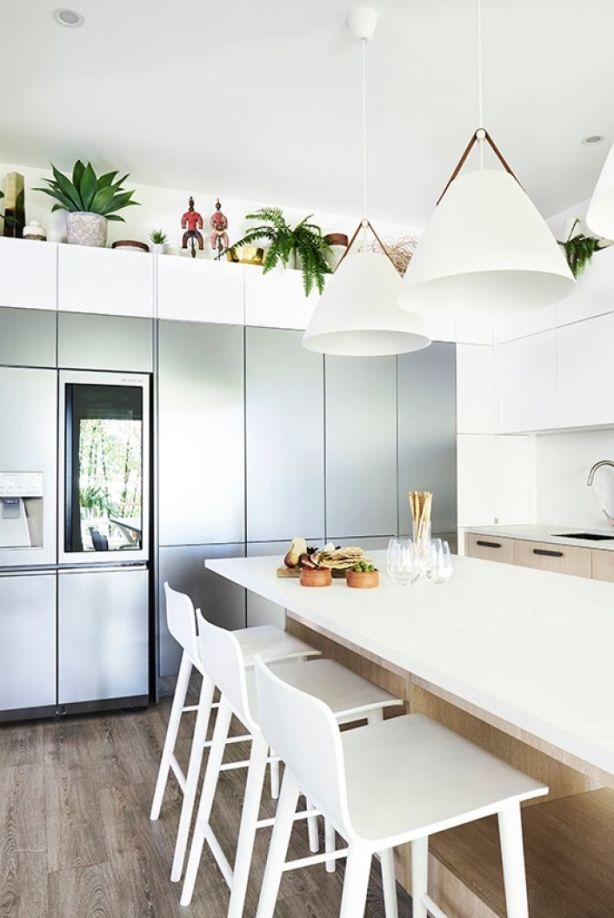 Risks in a bold design can elevate kitchens from purely functional to pleasantly sculptural. Photo: John Paul Urizar