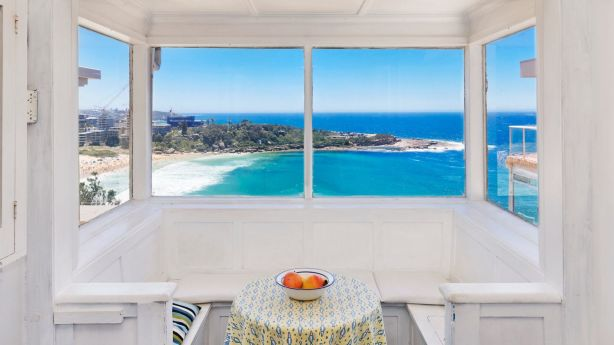 Charm alone didn't secure the top result, but the northerly views over Freshwater Beach helped. Photo: Supplied