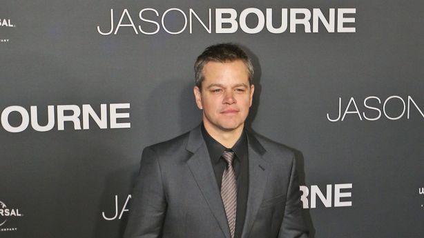 Matt Damon walked the red carpet in Sydney for the Australian Premiere of Jason Bourne. Photo: Rob Griffith