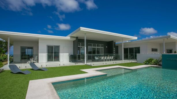 The Broken Head property, Titijaru, is currently home to Chris Hemsworth and his wife Elsa Pataky.