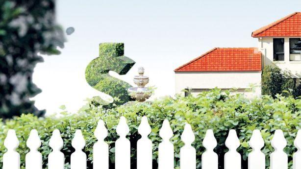 Australia's property market is now worth almost $6.9 trillion - a record high. Photo: Suzanne White