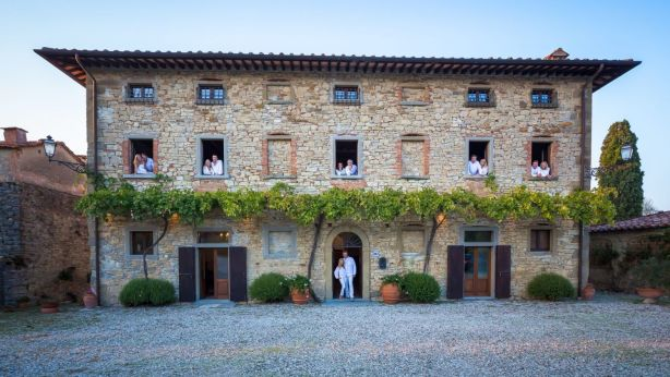 Another property is Palazzo Prugnoli in Italy that can house 18 guests.
