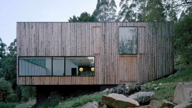 The Little Big House family house on Mt Wellington. Photo: Ben Hosking