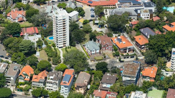 Renting a house in Darling Point will set you back a few thousand dollars, with the suburb recording a median asking rent of $2625 a week. Photo: Airview Group