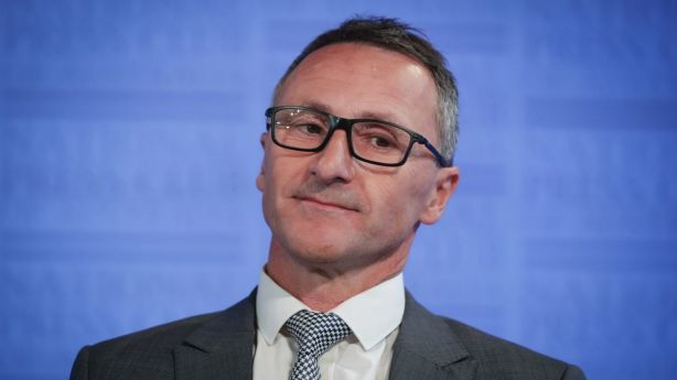 Senator Richard Di Natale is calling for a People's Bank to offer low-cost loans. Photo: Alex Ellinghausen