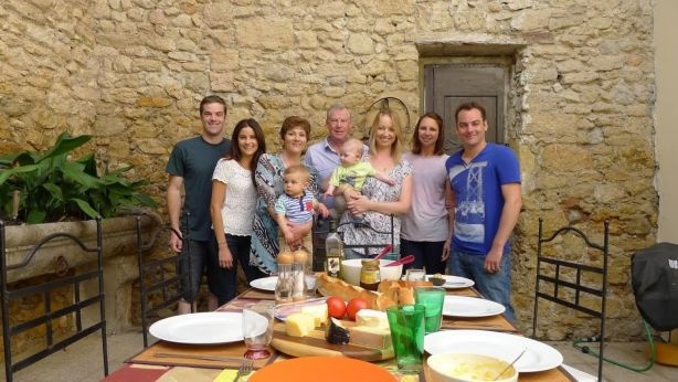 The Farrells have spent a month a year at the house, inviting family and friends for each stay. Photo: Supplied