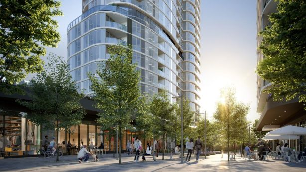 A collection of three high-rise towers is about to create a new landmark in Sydney's Epping. Photo: Supplied