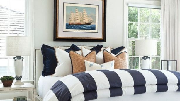 During the 2000s, coastal homes were decorated in a nautical theme. Photo: Katimatthews