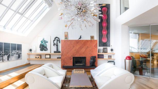 Vojtesska is a designer penthouse in Prague listed for about $5.68 million. Photo: Supplied