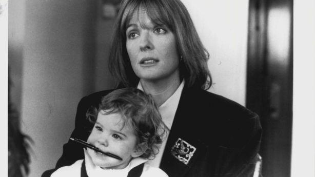 Diane Keaton in the 1987 film, Baby Boom. Photo: Fairfax Media