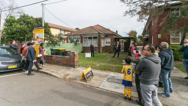 This semi sold for $1.31 million last year in Croydon, a Sydney suburb that now has a median price of $1,552,500. Photo: Sarah Keayes