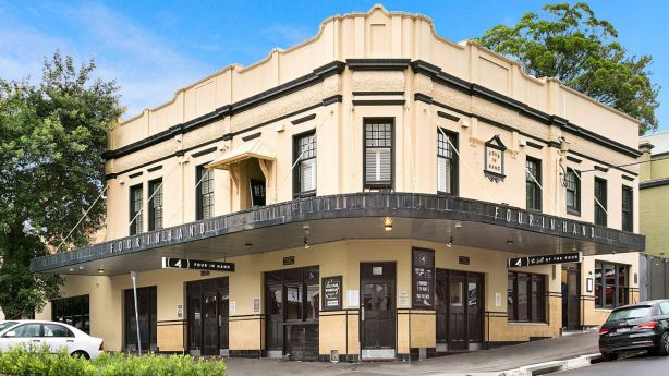 The Four In Hand hotel is set to be sold as a house. The land size is 360 square metres. Photo: Supplied