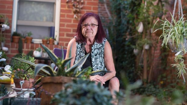 Ms Johnson has been living at the YWCA since March this year. Photo: Stephen McKenzie